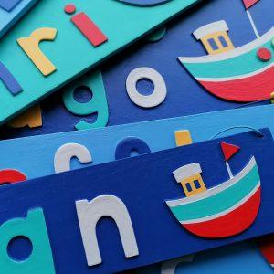 Boat Name Plates