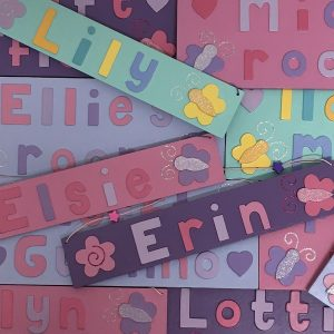 Butterfly Name Plates