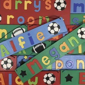 Sports Name Plates